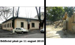 Monument Arhitectural demolari in Chisinaul Vechi Registrul monumentelor arhitecturale
